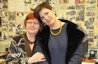 Катя Коновалова и Светлана Георгиевна