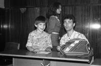 А.С. Лазарев и дети