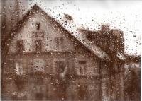 Дождь за окном Колледжа на Площади Ильича