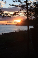 Закаты на Белом море видны только на фотографиях.