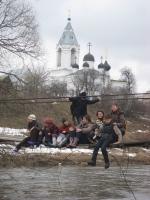 Подвесной мост в Битюгово