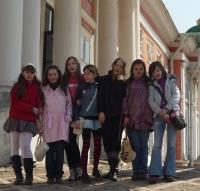 Экскурсия в Кусково (апрель 2010)